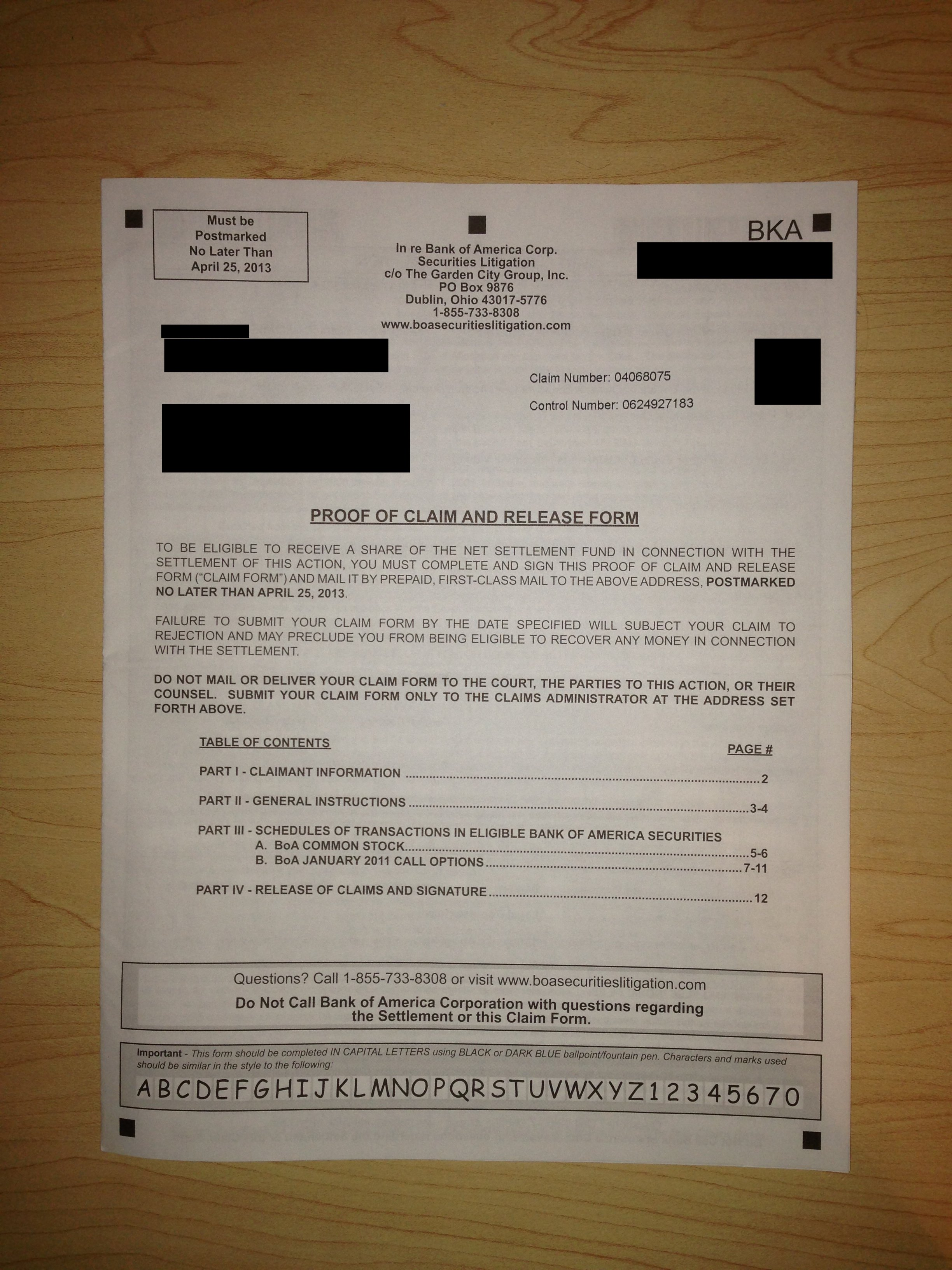 bank of america auto loan check status